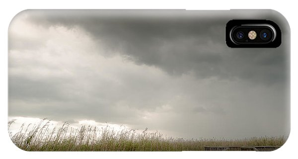 Stormy Walk IPhone Case