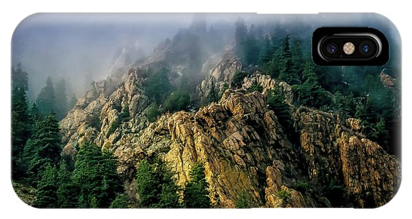 Stormy Wasatch- Fog IPhone Case