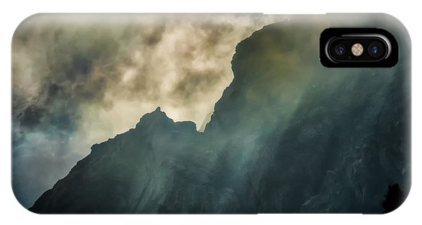 Stormy Wasatch- Rays IPhone Case