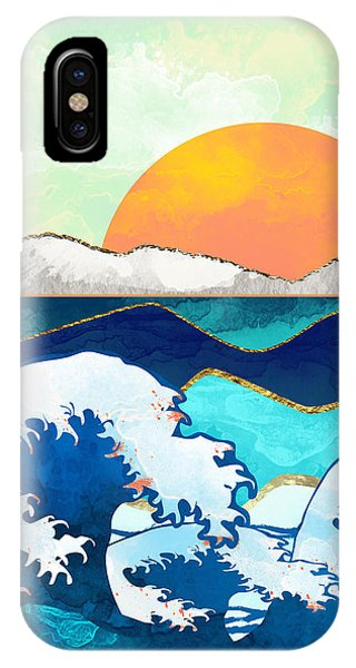 Landscape iPhone Case - Stormy Waters by Spacefrog Designs