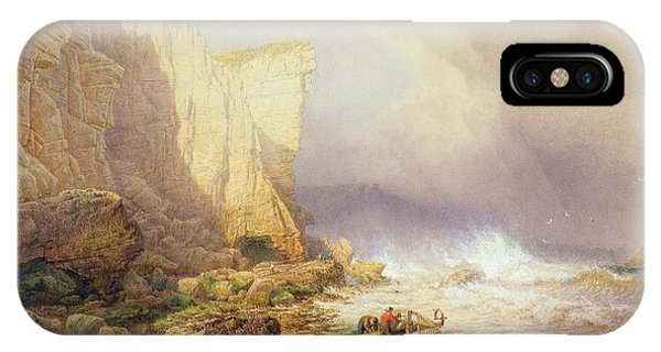 Tidal iPhone Case - Stormy Weather by John Mogford