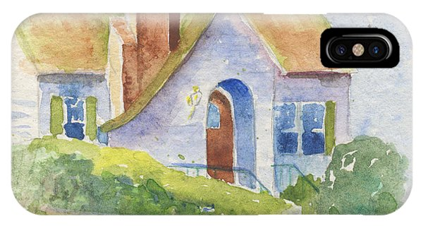 Storybook House IPhone Case