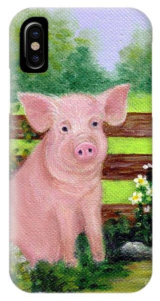 Storybook Pig IPhone Case