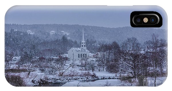 Stowe Vermont IPhone Case