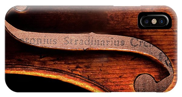 Stradivarius Label IPhone Case
