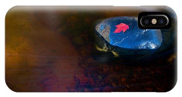 Stranded Leaf IPhone Case