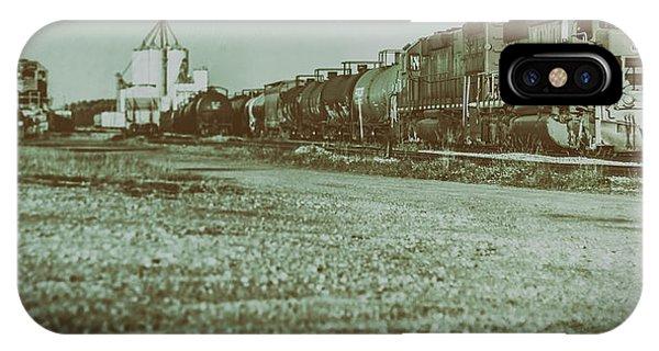 Stratford Train Yard, 2016 IPhone Case