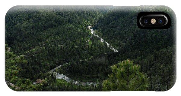 Stratobowl Overlook On Spring Creek IPhone Case
