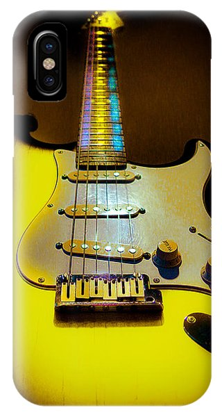 Stratocaster Lemon Burst Glow Neck Series IPhone Case
