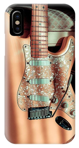 Stratocaster Plus In Shell Pink IPhone Case