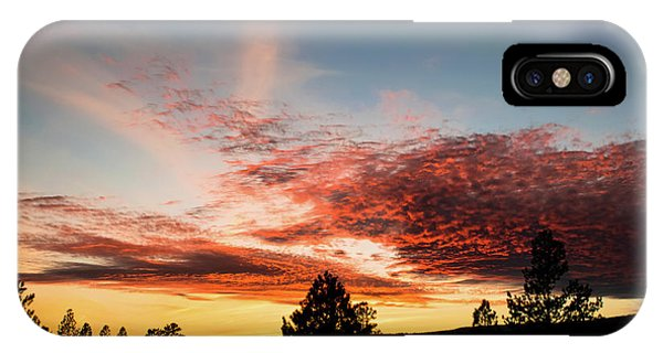 IPhone Case featuring the photograph Stratocumulus Sunset by Jason Coward