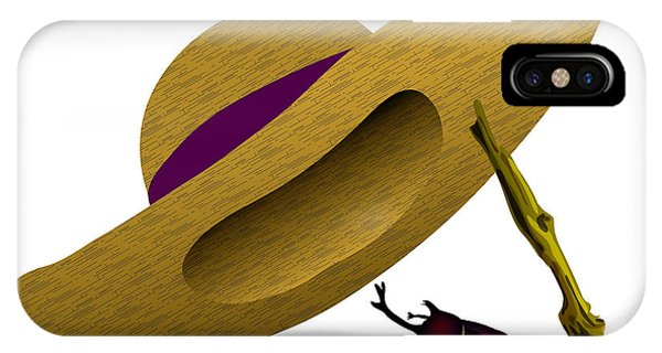 iPhone Case - Straw Hat And Horn Beetle by Moto-hal