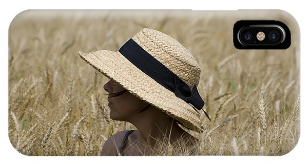 Straw Hat IPhone Case