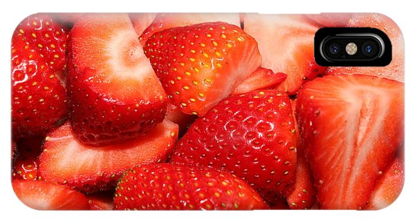 Strawberries 32 IPhone Case