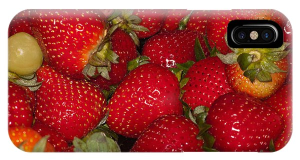 Strawberries 731 IPhone Case