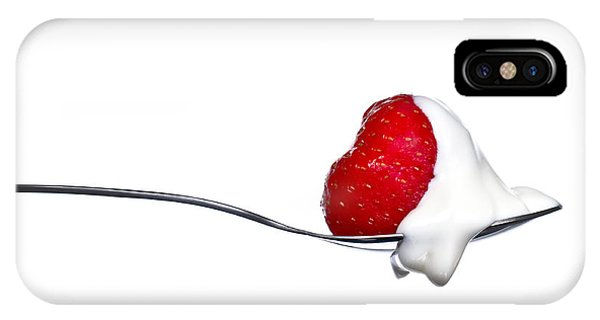 Strawberry And Cream IPhone Case