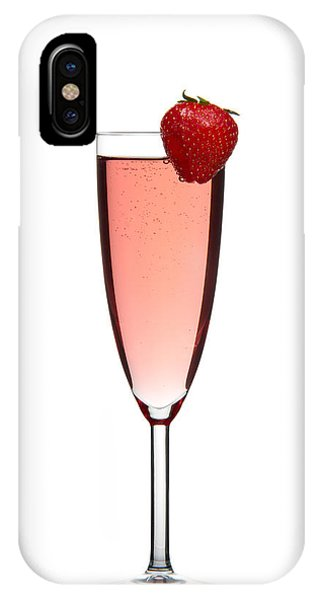 Strawberry Champagne IPhone Case