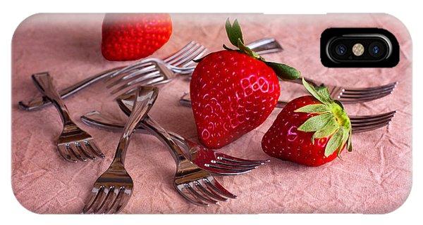 Fresh iPhone Case - Strawberry Delight by Tom Mc Nemar