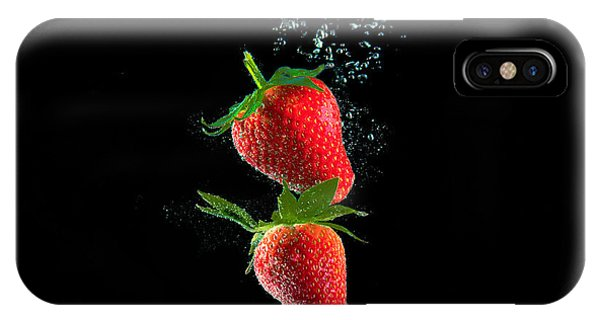 Strawberry Falls IPhone Case