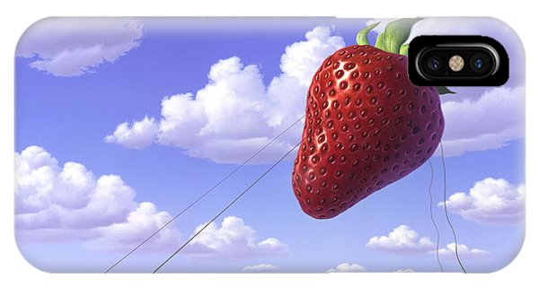 Strawberry Field IPhone Case