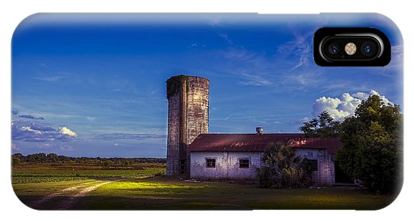Silos iPhone Case - Strawberry Fields Delight by Marvin Spates