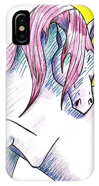 Strawberry Horse IPhone Case