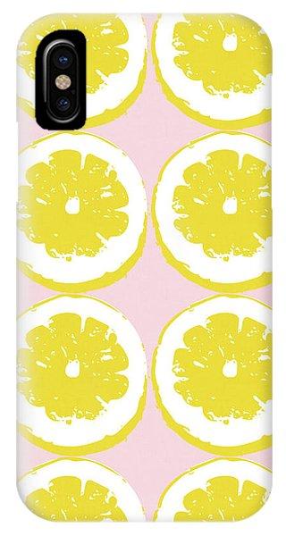 Strawberry Lemonade- Art By Linda Woods IPhone Case
