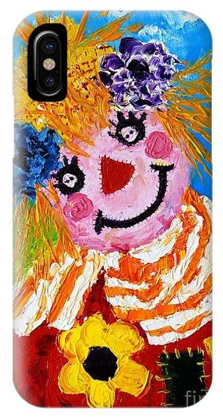 Strawberry Sally Scarecrow IPhone Case