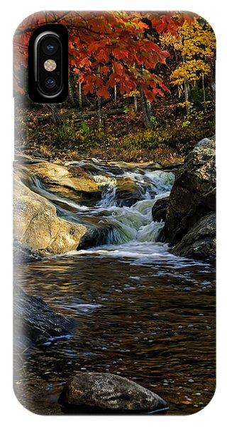Stream In Autumn No.17 IPhone Case