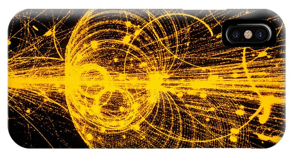 Streamer Chamber Photo Of Particle Tracks Phone Case by Cern