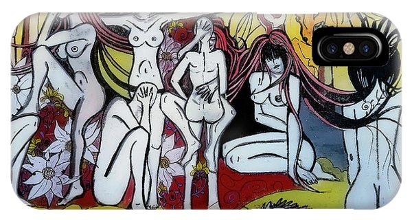 IPhone Case featuring the digital art Street Art - Siena Italy by Joseph Hendrix