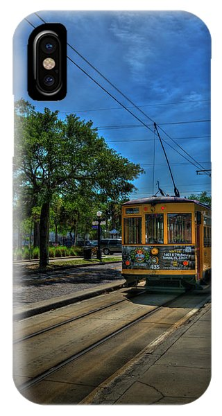 Trolley Car iPhone Case - Street Car 435 by Marvin Spates