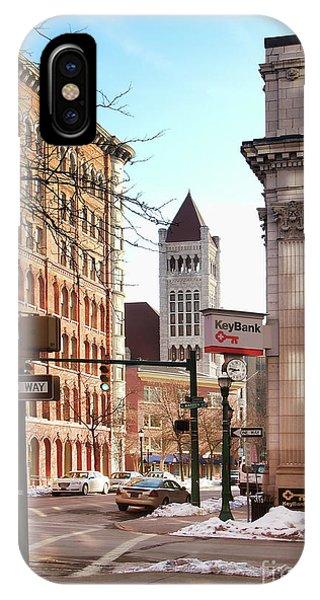 Street Corner Phone Case by Debra Millet