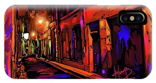 Street In Avignon, France IPhone Case