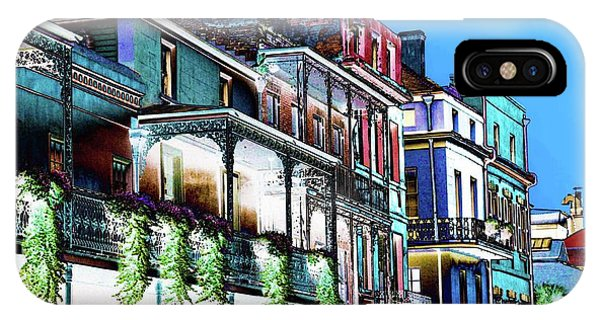 Street In New Orleans IPhone Case