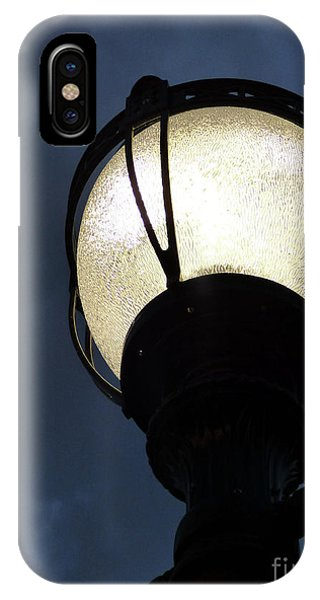 Street Lamp At Night IPhone Case