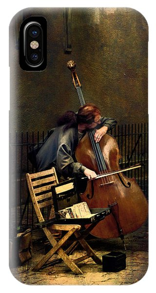 Street Musician IPhone Case