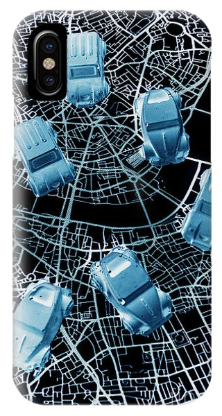 Navigation iPhone Case - Street Racers Gps by Jorgo Photography - Wall Art Gallery