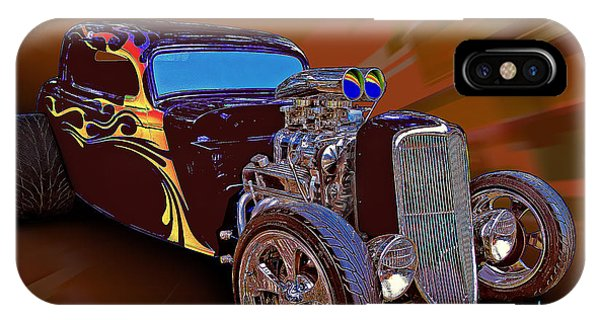 Street Rod What Is It IPhone Case