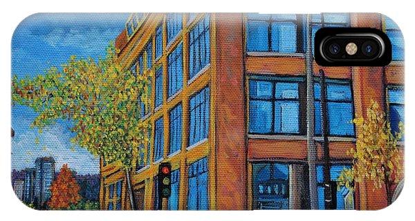 Street Study Montreal IPhone Case