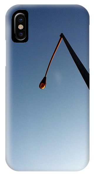 Streetlight At Dusk IPhone Case