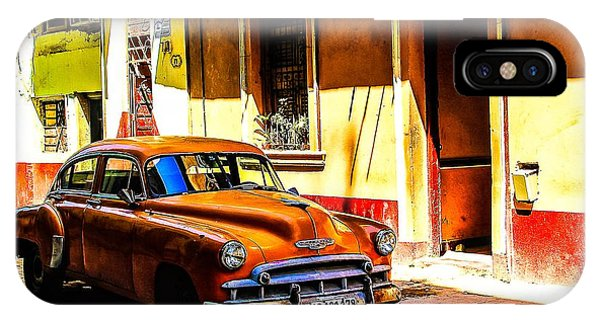 Streets Of Havana IPhone Case