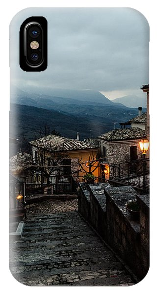 Streets Of Italy - Caramanico 3 IPhone Case