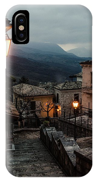 Streets Of Italy - Caramanico IPhone Case