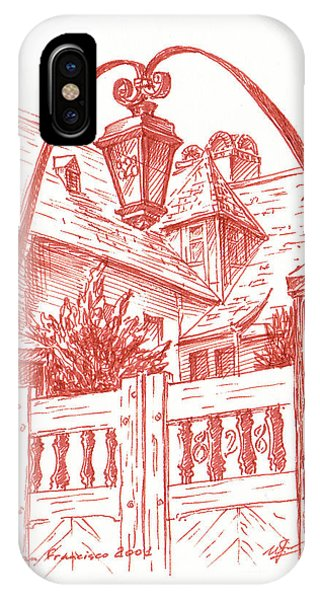 West Bay iPhone Case - Streets Of San Francisco Russian Hill by Irina Sztukowski
