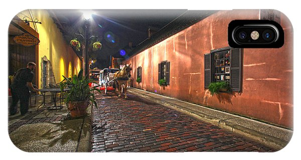 Streets Of St Augustine IPhone Case