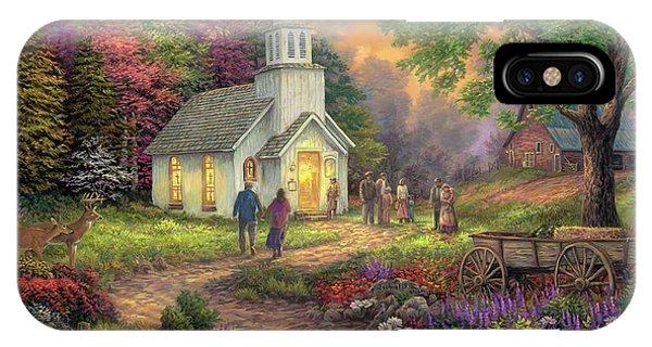 Faith iPhone Case - Strength Along The Journey by Chuck Pinson