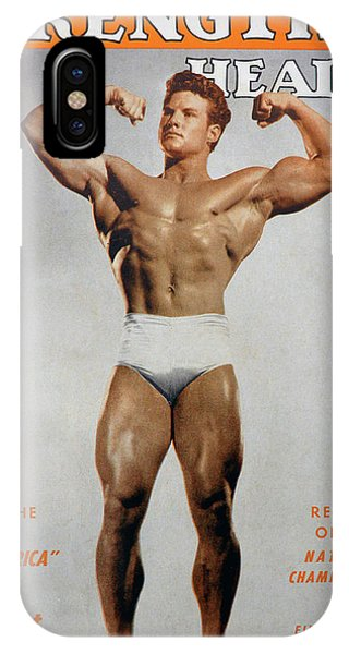 iPhone Case - Strength And Health August 1947 by David Lee Thompson