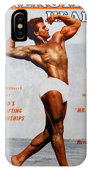 iPhone Case - Strength And Health Mag November 1947 by David Lee Thompson