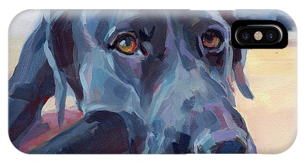 Pet iPhone Case - Stretched by Kimberly Santini